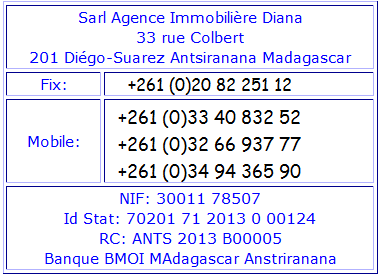 Agence Immobiliére Diana